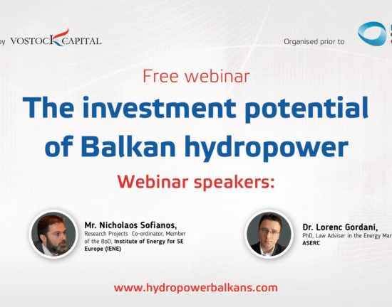 "Webinar Record ""Investment Potential of Balkan HPP"", Vostock Capital"", 20th June 2017"