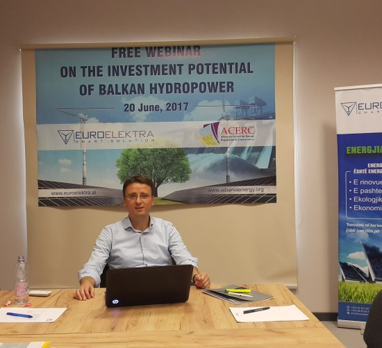 Investment rights between small and big hydro's in WBs, Dr Lorenc Gordani, 20th June 2017