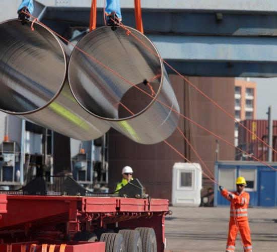 TAP përfundon transportin e 13 mijë tubave në Shqipëri, Revista Monitor, 20 Qershor 2017