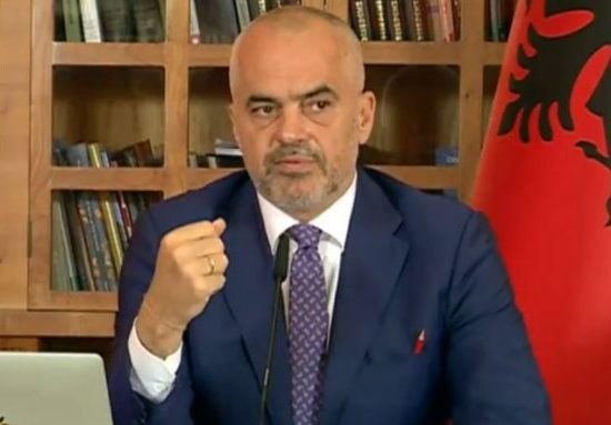 PM Rama discuss next steps in Albania's energy reform process, ECS, 6 September 2017
