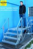 Escada trepadeira plataforma especial