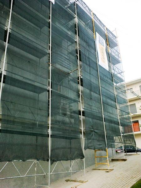 Guimarães    Isolamento de fachada com sistema ETICS tipo Cappotto