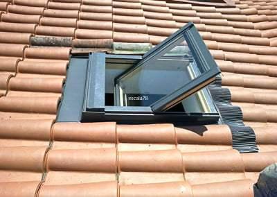 Braga | Aplicação de janela de sótão