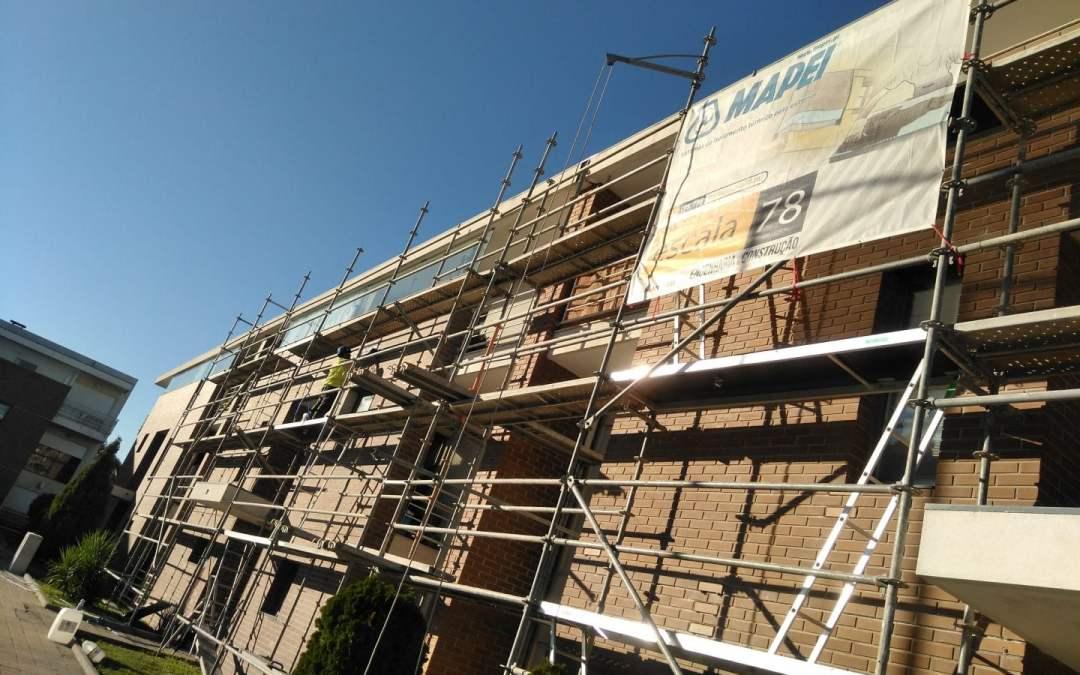 Gondomar   Reabilitação de fachadas em cerâmico e ETICS