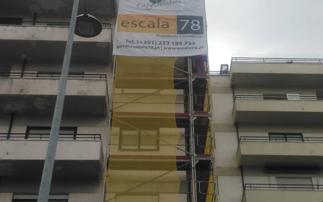 Vila Nova de Gaia | Reabilitação de fachadas com sistema ETICS