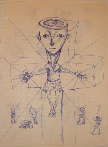 FIGURA 18 – Ilustração de Daniel Johnston
