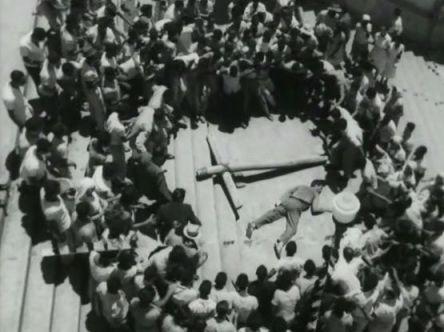 """FIGURA 109 - Still do filme """"O Pagador de Promessas"""", de Anselmo Duarte (1962)"""