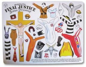 """FIGURA 153 - """"Magnetic Jesus - Dress up"""" (jogo)"""