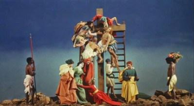 """FIGURA 37 - Still do filme """"La Ricotta"""", de Pier Paolo Pasolini (1963)"""
