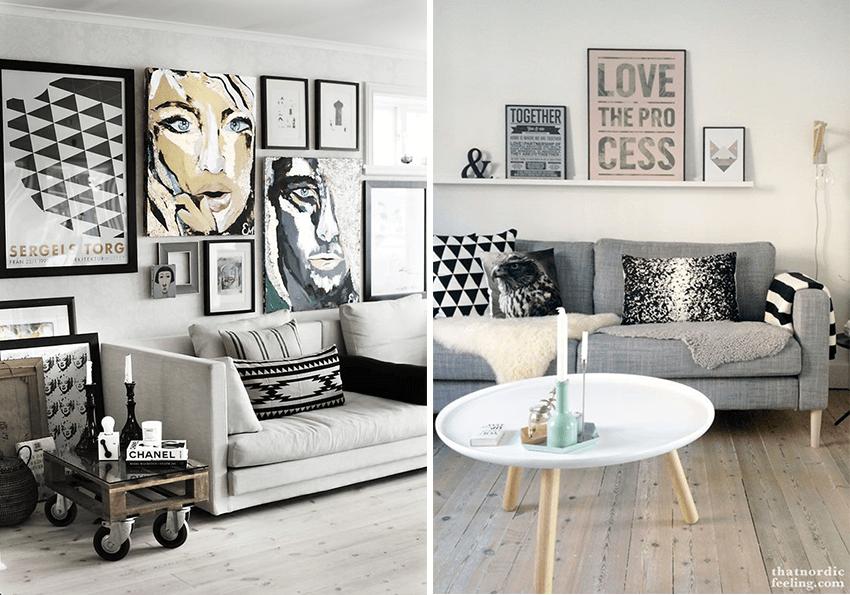 Pinterest Deco Salon Scandinave