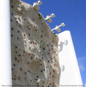 Mur d'escalade - Vision of the Seas