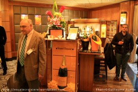 Queen Mary 2 - Veuve Clicquot Champagne Bar