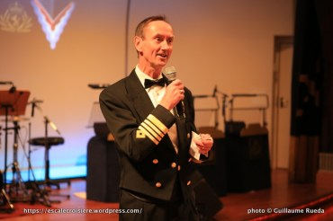 Chris Wells - Commandant du Queen Mary 2
