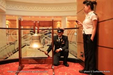 Queen Mary 2 - Cérémonie de la cloche