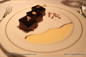 Queen Mary 2 - Restaurant Britannia - dessert 175 ans Cunard