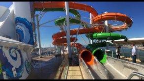 Liberty of the Seas - toboggans Perfect Storm - Nick Weir