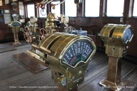 Queen Mary - Passerelle de navigation