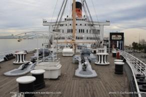 Queen Mary - Pont promenade