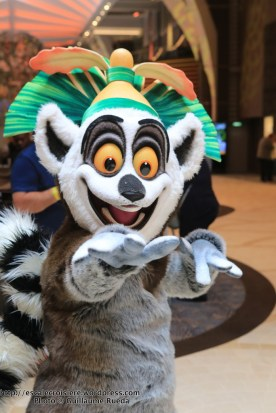 Harmony of the Seas King Julian-Madagascar-Dreamworks