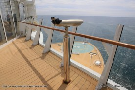 Harmony of the Seas - Wings - Passerelle tribord