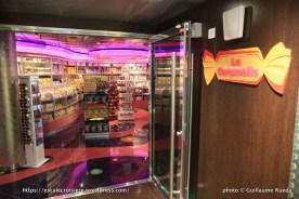 MSC Fantasia - Boutique La Caramella - bonbons