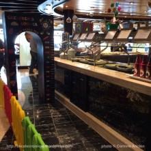 MSC Fantasia - Africana buffet restaurant