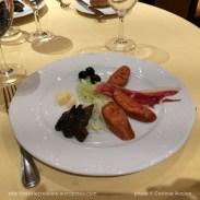 MSC Fantasia - restaurant - Tapas Frias - Spécialité espagnole