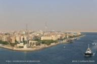 Traversée du Canal de Suez - Ville de Suez