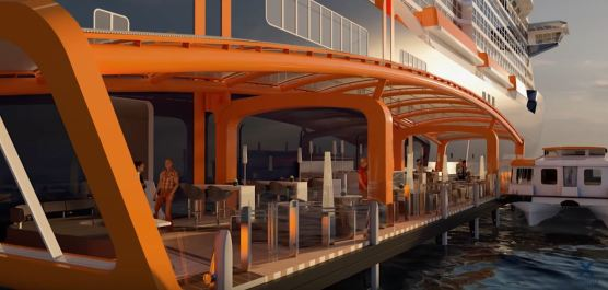 Celebrity Edge - Magic Carpet Pont 2