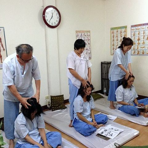 Photo école de massage Chiang Mai