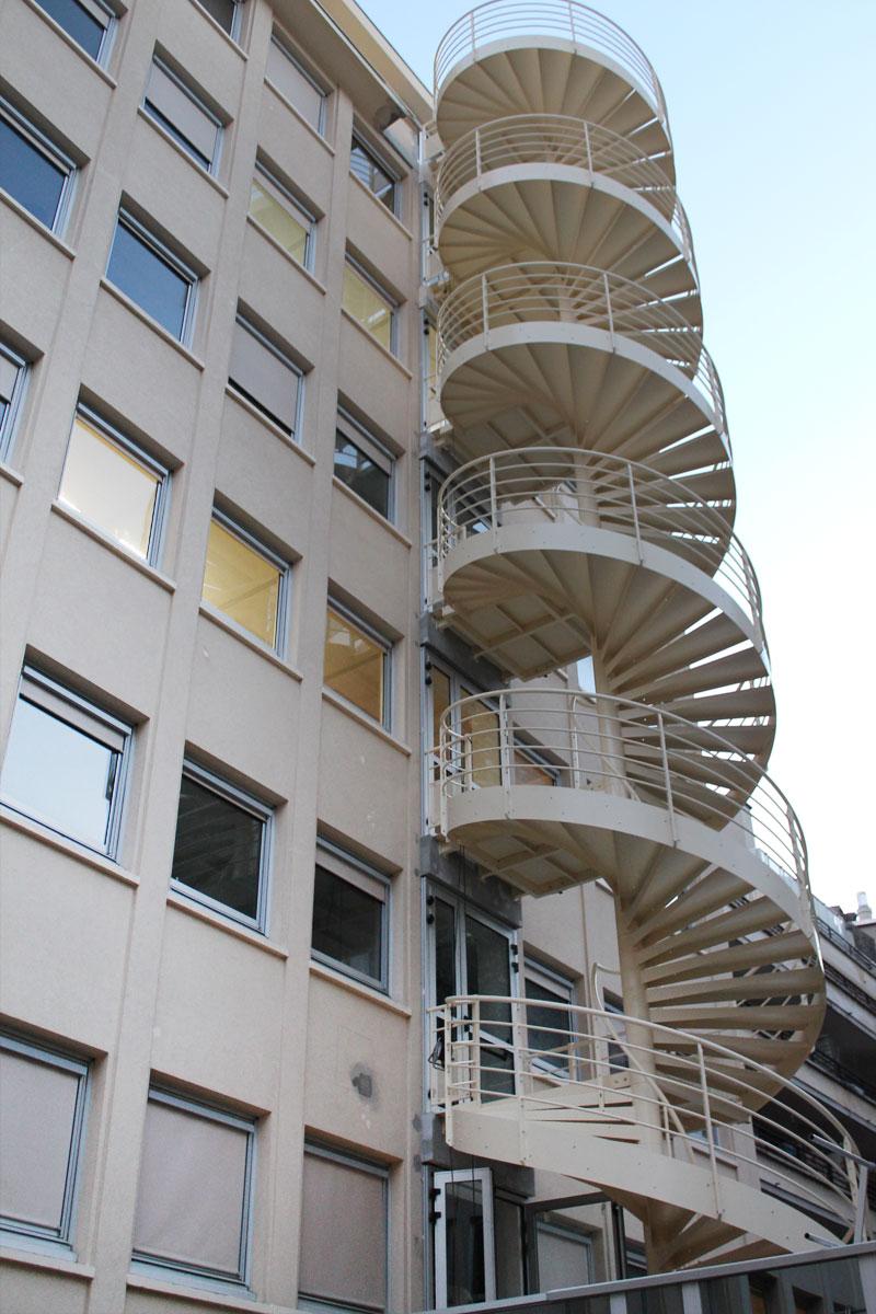 Escalier Colimacon Beton