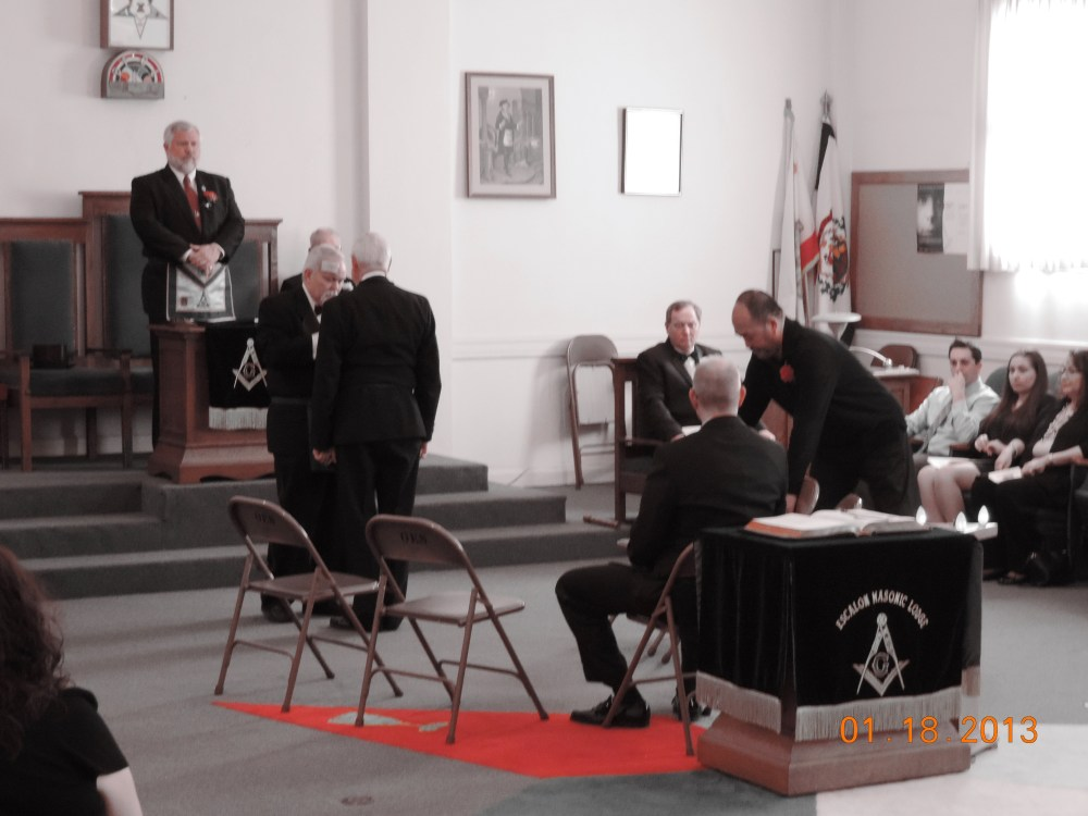 Escalon Lodge No. 591-91st Installation of Officers (5/6)