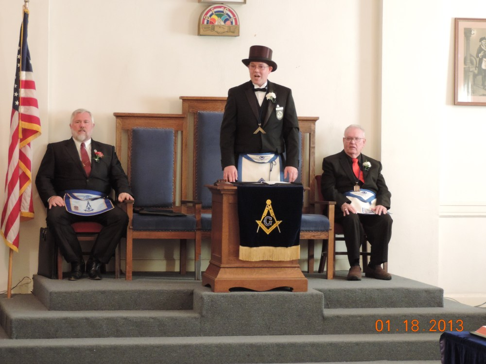 Escalon Lodge No. 591-91st Installation of Officers (1/6)
