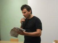 Edoardo Olmi, reading 'Oblò'