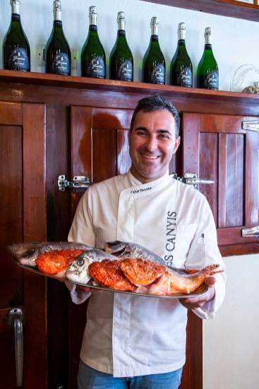 chef victor perrotte restaurant es canyis puerto soller