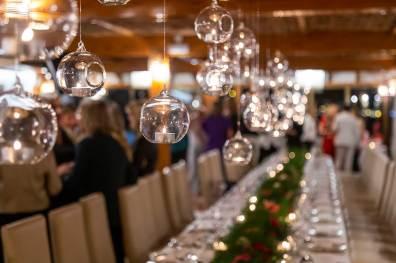 decoracion luces evento restaurant es canyis