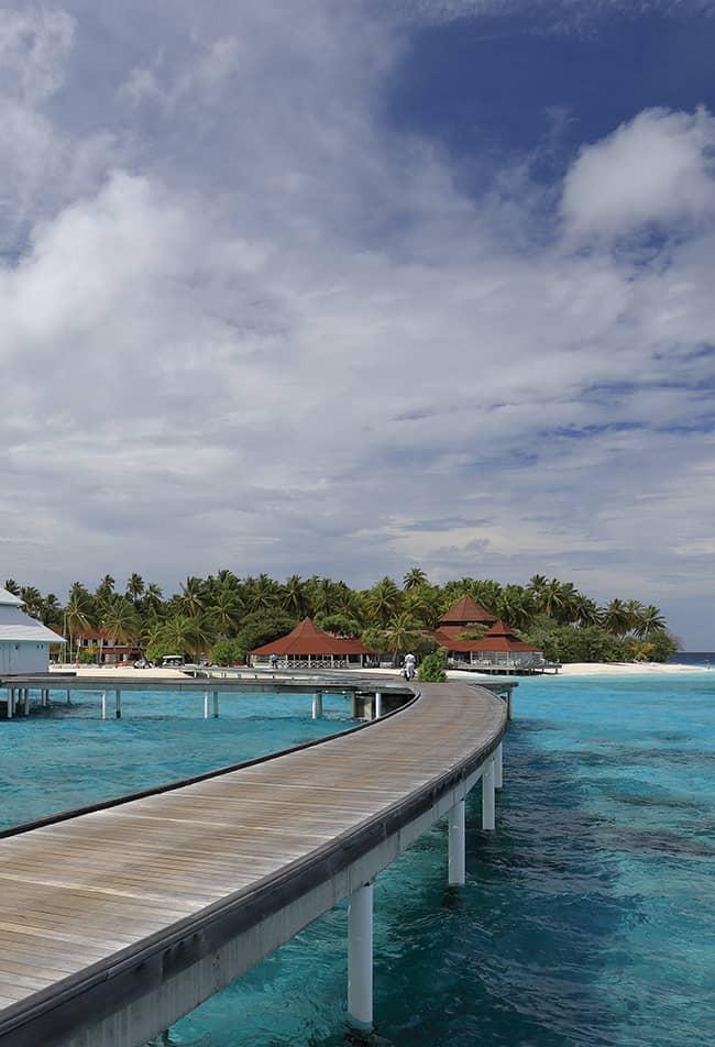 hotel en las maldivas