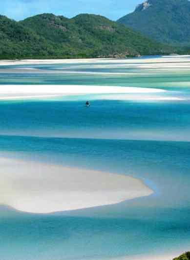 Whiteheaven Beach, una de las mejores playas de Australia