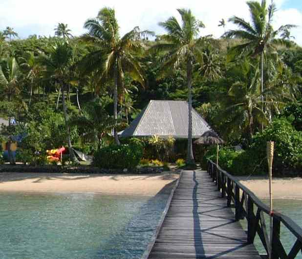 De escapada por Isla Malolo, en las Fiyi