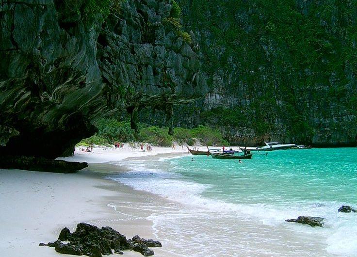 Maya Bay en Phi Phi Island, Tailandia
