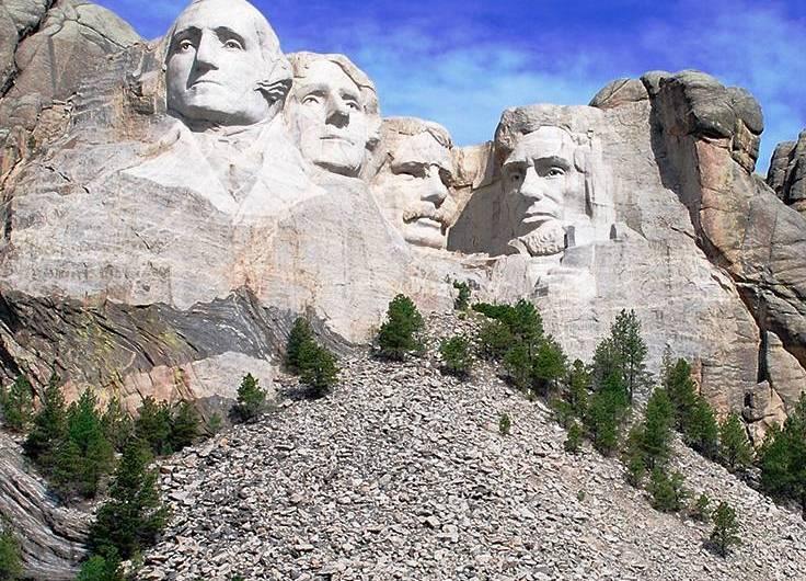 La historia del Monte Rushmore y sus presidentes