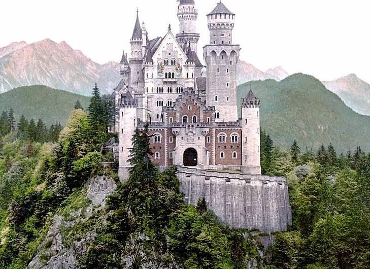 El Castillo de Neuschwanstein: la idea de un rey no tan loco