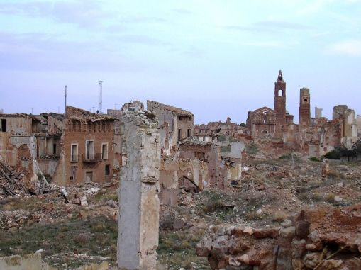 Vista general de Belchite