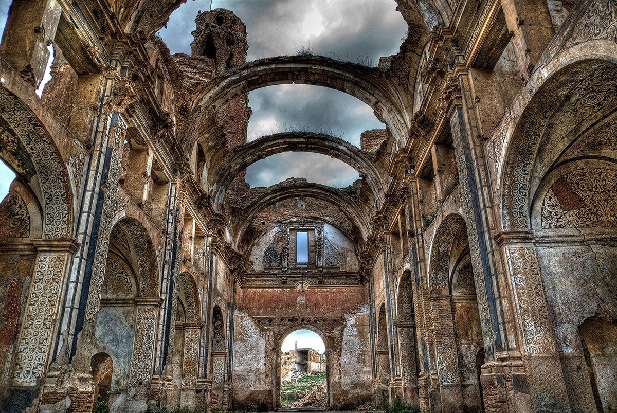 Belchite viejo: psicofonías y fantasmas de la batalla