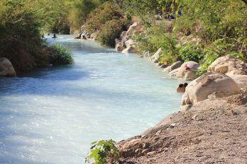 Río turquesa de Tolantongo