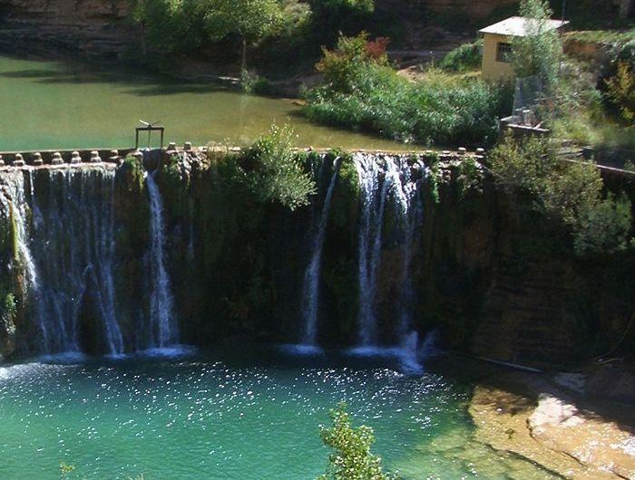El salto de Bierge, Huesca: 8 metros de caída en plena naturaleza