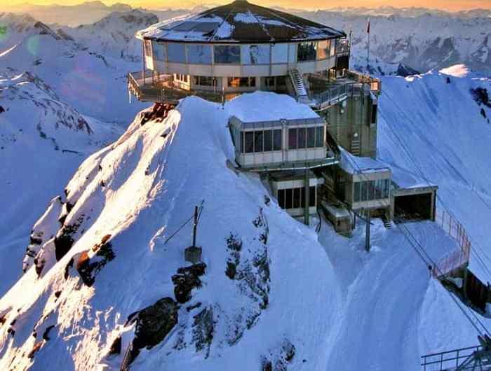 Schilthorn, el mirador más alto de los Prealpes suizos