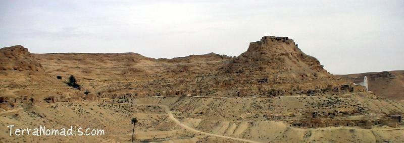 Chenini, Douiret et Guermessa, ksour citadelle