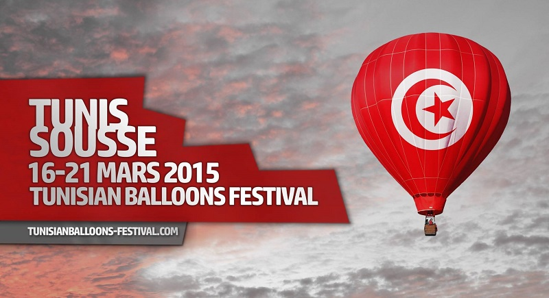 festival des ballons Tunisie