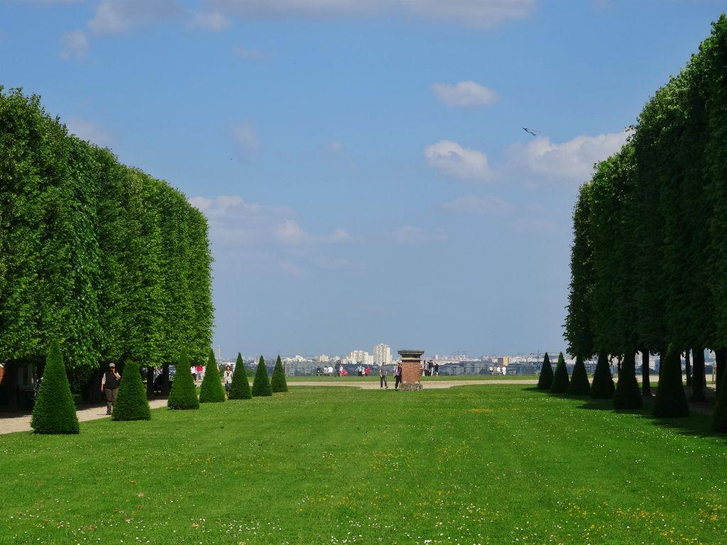 dans le parc de Saint-Germain-en-Laye